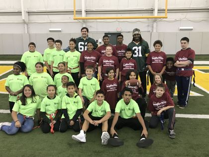 Associated Bank's Flag Football event with Green Bay Packers helps build stronger community connections