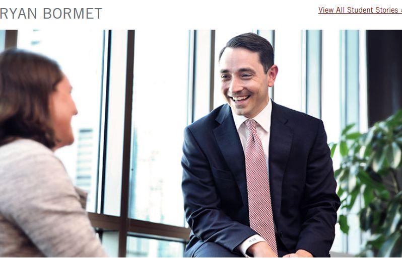 Ryan Bormet, relationship manager at Chicago Monroe, Associated Bank