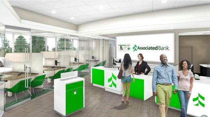 Interior rendering of new Rockford branch