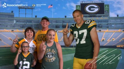 "Packers fans offered unique experiences to ""Get Closer to the Packers with Associated Bank"" throughout the season"
