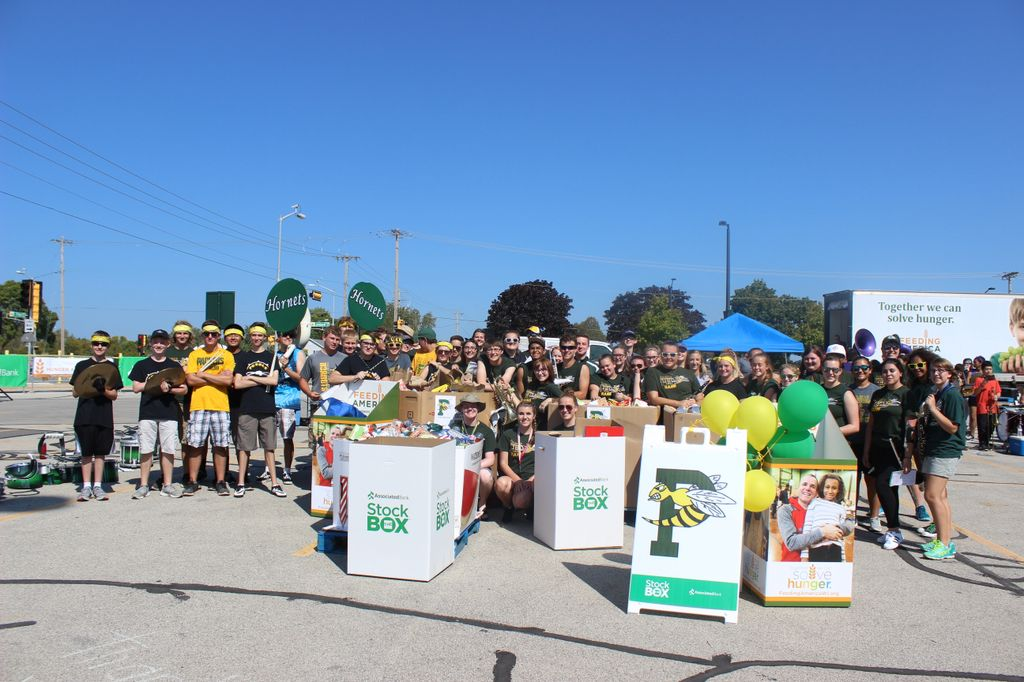 Preble High School for Stock the Box for Hunger Campaign