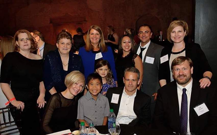 Associated Bank colleagues at Bone Appetit Gala