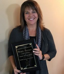 Michele Haensgen receives Excellence in Professionalism Award