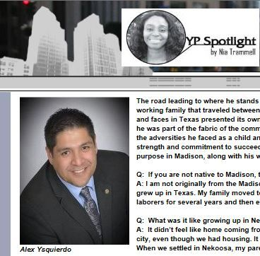 Alex Ysquierdo featured in Young Professional Spotlight