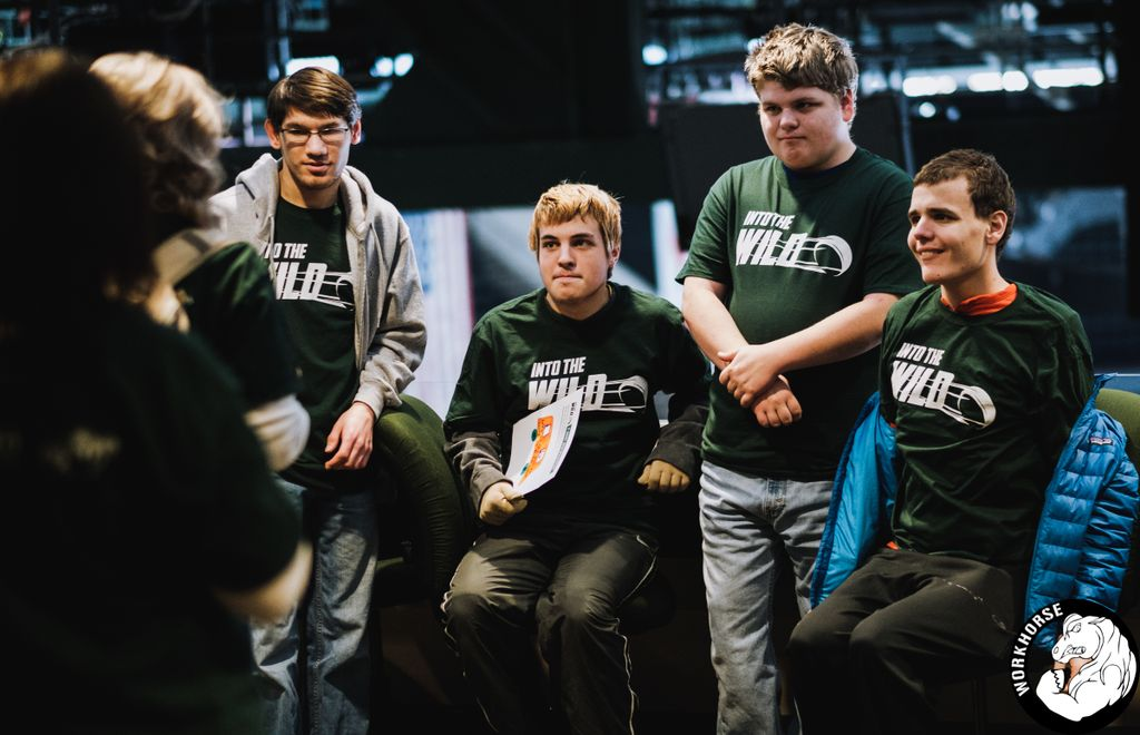 Students with autism receive VIP experience at Xcel Energy Center.