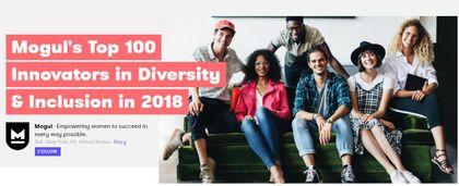 Mogul's Top 100 Innovators in Diversity & Inclusion in 2018