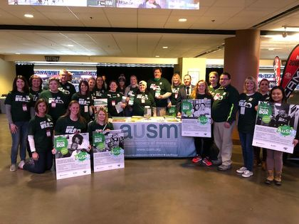Associated Bank Raises Awareness and Donations for the Autism Society of Minnesota at Minnesota Wild Game