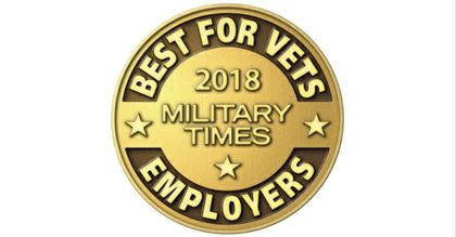 Associated Bank named a Best for Vets: Employer by Military Times