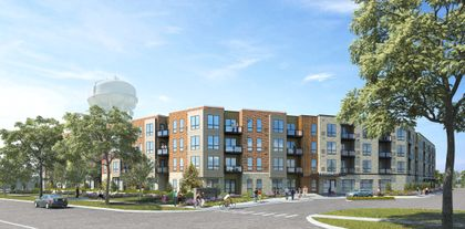 Associated Bank completes $39.2M syndicated construction loan for Glenview, Ill. apartment project