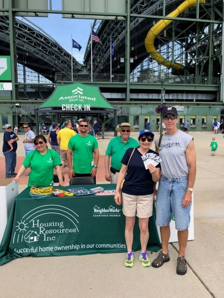 Brewers fan donated tools in exchange for tickets to an upcoming game at the Stock the Box™ tool drive at Miller Park on Father's Day, June 17.