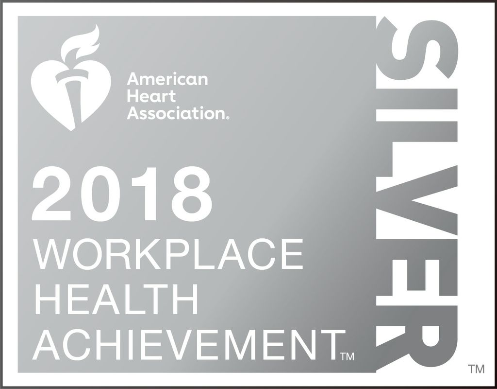 Associated Bank is recognized by the American Heart Association for workplace health achievement.