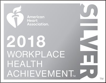 American Heart Association recognizes Associated Bank for workplace health achievement