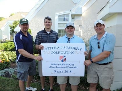 Local veterans supported through $10,000 donation by Associated Bank