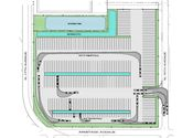 Melrose Park truck facility site plan