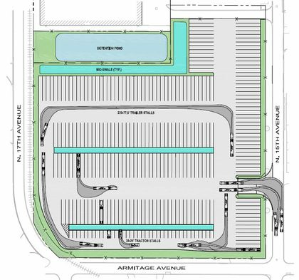 Associated Bank completes $6.5M loan for truck parking facility in Melrose Park, Illinois