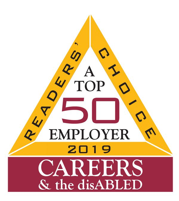 CAREERS & the disABLED Magazine's 2019 top 50 employer