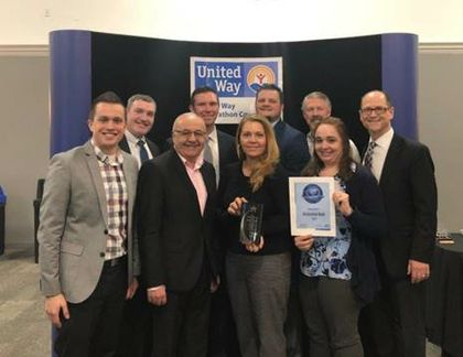 Associated Bank recognized by United Way of Marathon County with Live United award