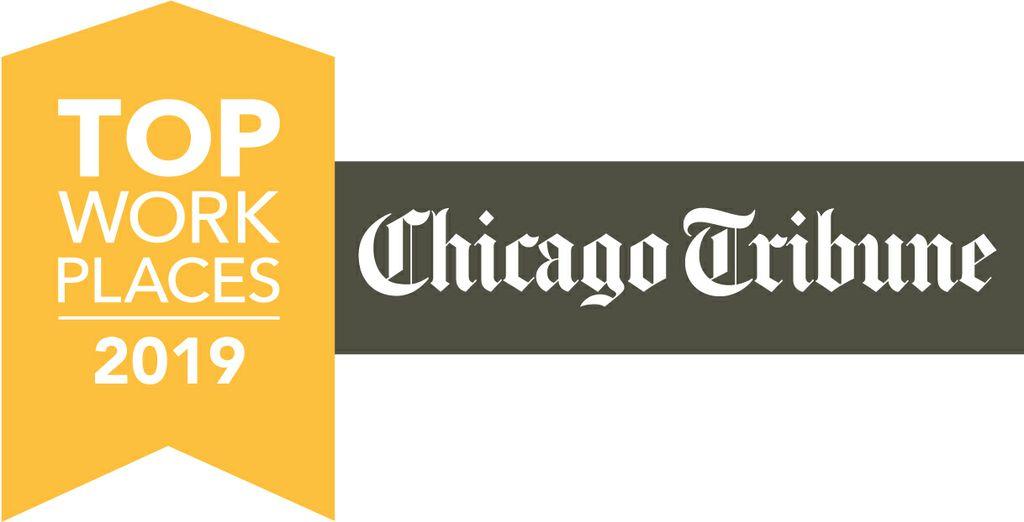 Chicago Tribune 2019 Top Work Places