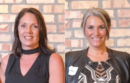 Tracy Lemsky, Tommie Preslaski recognized as Women of Strength award recipients