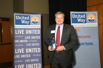 Associated Bank recognized at Brown County United Way annual meeting