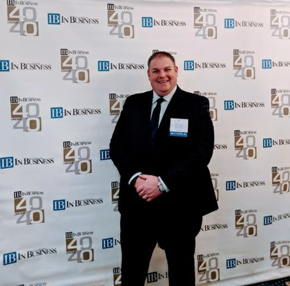 Jay Sodey of Associated Bank recognized as a 40 Under 40 honoree by In Business magazine