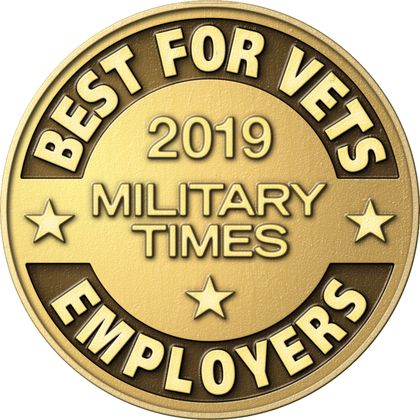 Associated Bank recognized as a 2019 Best for Vets: Employer by Military Times