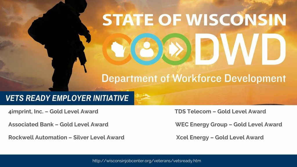 State of Wisconsin DWD Vets Ready Employer Initiative