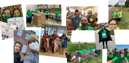 Associated Bank colleagues volunteer during Days of Caring