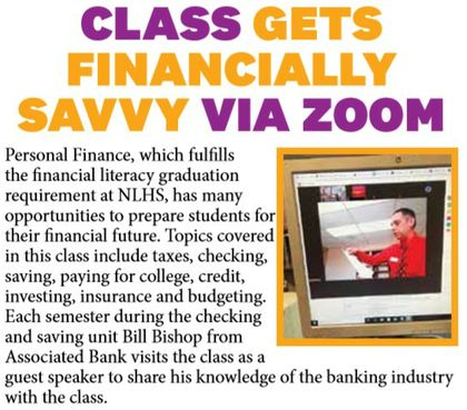 Class Gets Financially Savvy Via Zoom