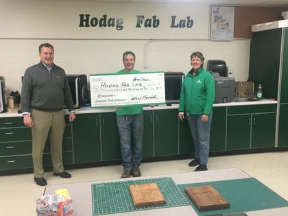 Associated Bank awards Hodag Fab Lab a grant for new equipment