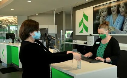 Associated Bank reopens branch lobbies with new safety measures in support of community health
