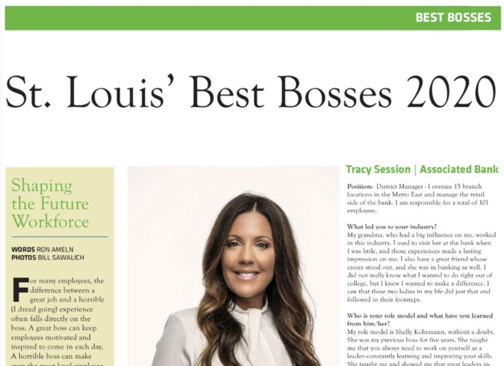 Tracy Session recognized in Small Business Monthly