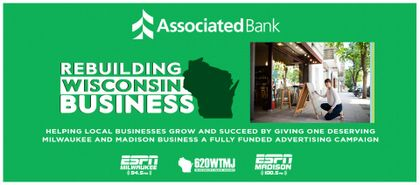 "Good Karma Brands' Wisconsin Owned Stations and Associated Bank Announce the ""Rebuilding Wisconsin Business"" Contest"