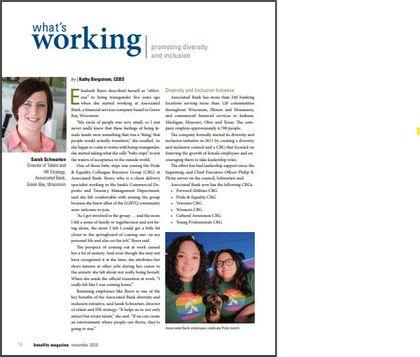 What's Working, Benefits Magazine