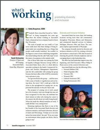 What's Working: Promoting Diversity and Inclusion