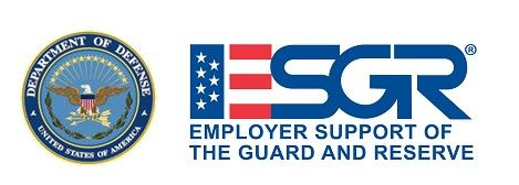 Associated Bank recognized with ESGR Above and Beyond Award in recognition of the extraordinary support of colleagues who serve in the National Guard and Reserve