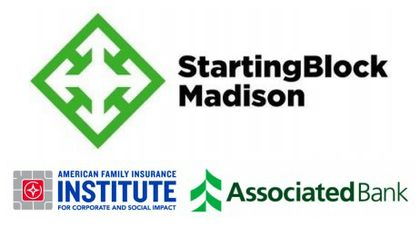 Associated Bank teams up with StartingBlock and the American Family Insurance Institute for Corporate and Social Impact to support eleven social impact entrepreneur teams for StartingBlock's 2021 Social Impact Cohort
