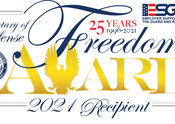 National award recognizes Associated for commitment to veteran, military personnel