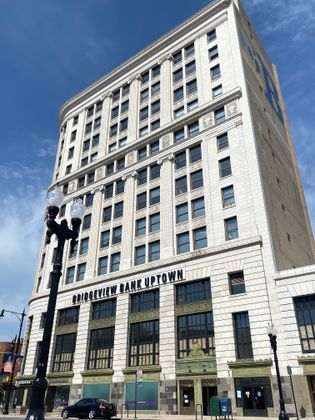 Associated Bank announces $43.8M financing package for historic redevelopment of Bridgeview Bank building in Chicago