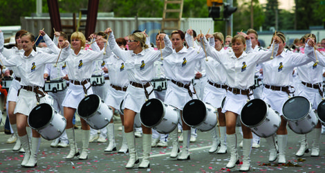 Visiting Bands Committee Hosts The World Association Of