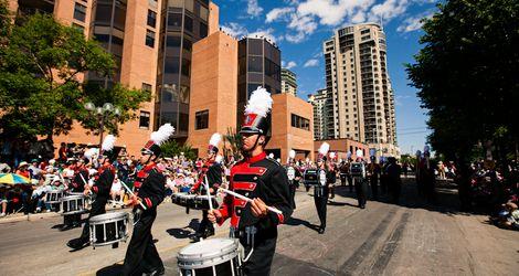 Calgary Stampede Parade Show Band Award Winners Calgary