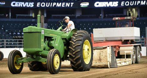 Niemans Wins Vintage Tractor Pull Calgary Stampede