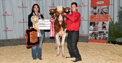 Tyler Reitveld, Supreme Champion - Dairy