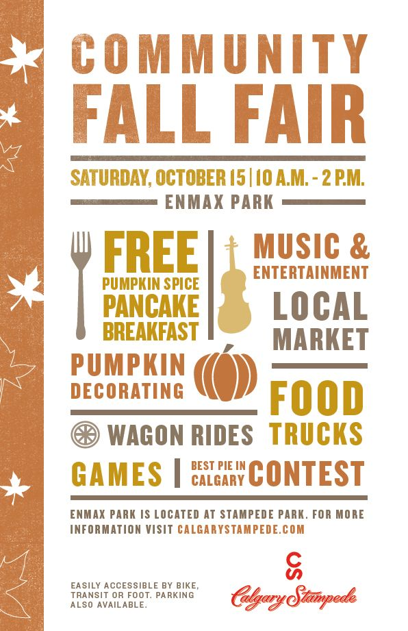 Join The Calgary Stampede For A Community Fall Fair