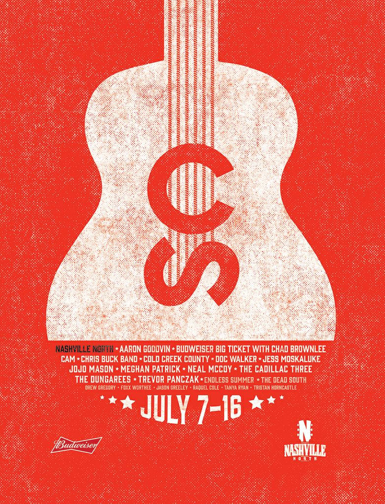 2017 Nashville North - Poster