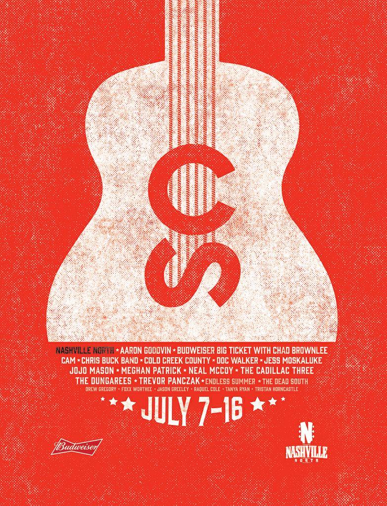 2017 Nashville North - Poster