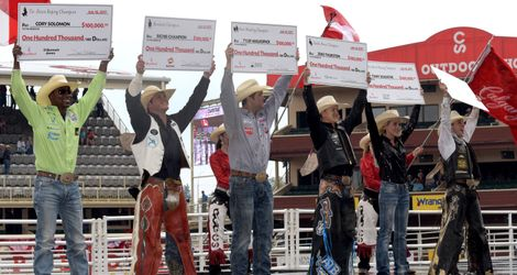 Championship Sunday At The Calgary Stampede Lived Up To