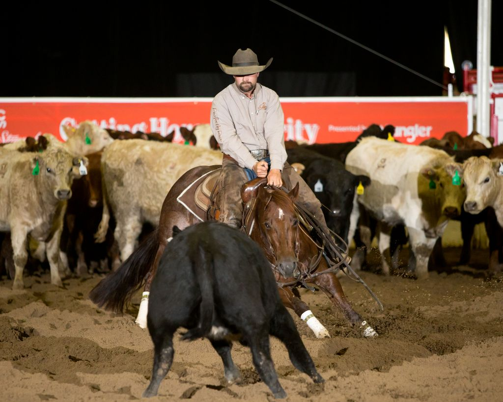 Open Futurity 2016 - Dustin Gonnet