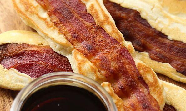 Bacon Pancake Dipper