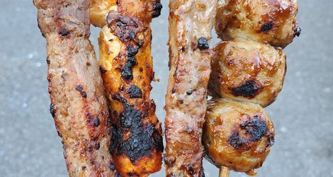 Asian BBQ Skewers